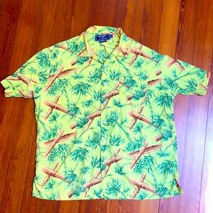 Polo Sport Ralph Lauren bamboo Hawaiian shirt